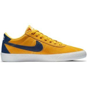 Nike SB Bruin Low's (Gold & Blue) Size 7 &10 WOMEN
